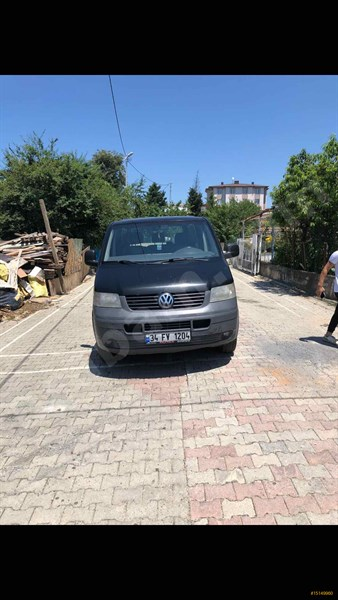 Sahibinden Volkswagen Transporter 1.9 Tdi Camlı Van 2009 Model İstanbul 460.000 Km -