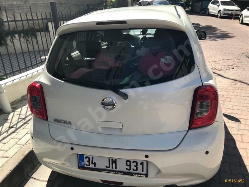 Sahibinden Nissan Micra 1.2 Street 2014 Model İstanbul 55.000 Km Beyaz