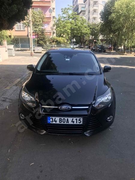Sahibinden Ford Focus 1.6 Tdci Titanium 2012 Model İstanbul 184.000 Km Siyah