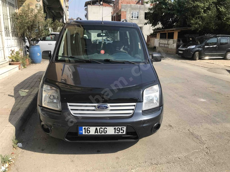 Galeriden Ford Transit Connect K210 S Deluxe 2011 Model Bursa 194.000 Km Beyaz
