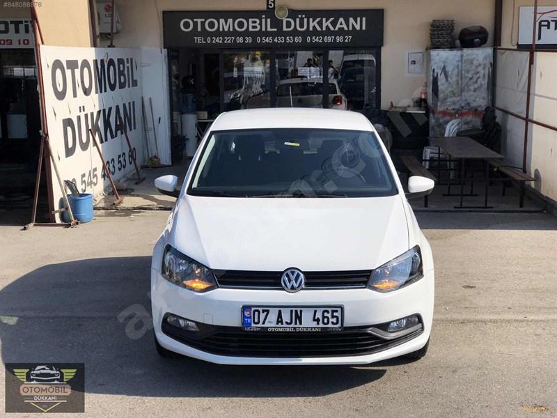 Galeriden Volkswagen Polo 1.4 Tdi Trendline 2017 Model Antalya 63.000 Km Beyaz