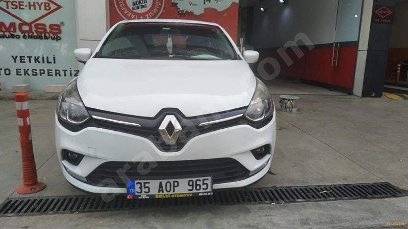 Sahibinden Renault Clio 1.5 Dci Touch 2016 Model İzmir 98.000 Km Beyaz