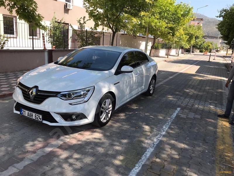 Sahibinden Renault Megane 1.6 Joy 2018 Model Ankara 20.500 Km Beyaz