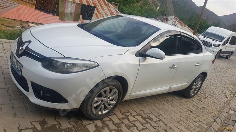 Sahibinden Renault Fluence 1.5 Dci Touch Plus 2013 Model Hakkari 150.000 Km Beyaz