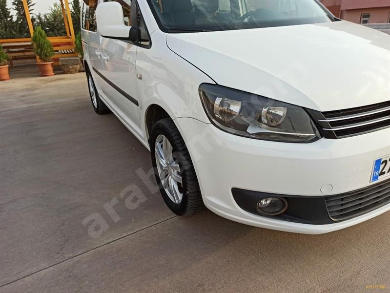 Sahibinden Volkswagen Caddy 1.6 Tdi Comfortline 2014 Model şanlıurfa 122.000 Km -
