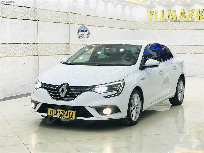 Galeriden Renault Megane 1.5 Dci Icon 2017 Model Gaziantep 178.612 Km Beyaz