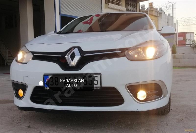 Galeriden Renault Fluence 1.5 Dci Touch 2016 Model Hatay 87.000 Km Beyaz