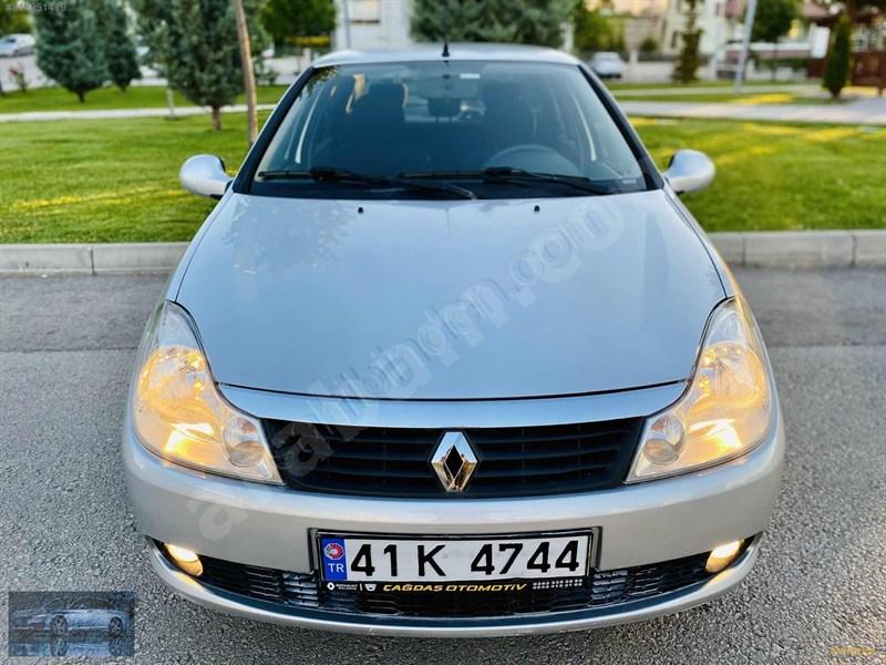 Galeriden Renault Symbol 1.4 Expression 2010 Model Ankara 75.000 Km Gri