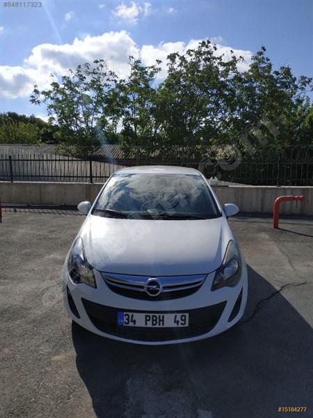 Sahibinden Opel Corsa 1.3 Cdti Essentia 2014 Model İstanbul 51.600 Km Beyaz