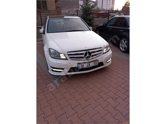 Sahibinden Mercedes - Benz C 180 BlueEFFICIENCY AMG 2012 Model Kayseri