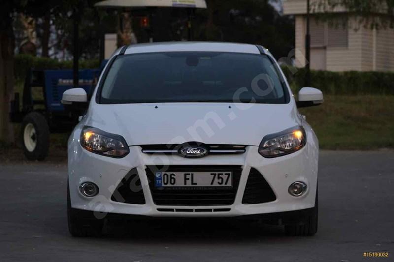 Sahibinden Ford Focus 1.6 Tdci Titanium 2012 Model Osmaniye 109.000 Km Beyaz