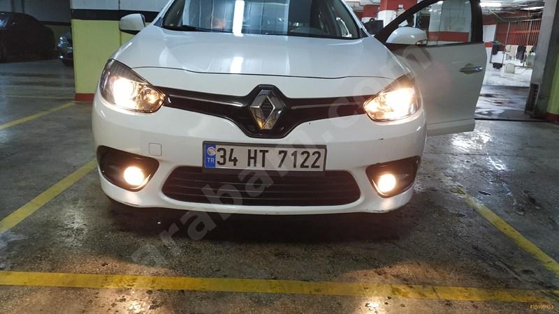 Sahibinden Renault Fluence 1.5 Dci Touch Plus 2013 Model İstanbul 110.000 Km Beyaz