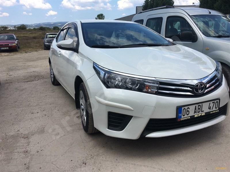 Sahibinden Toyota Corolla 1.33 Life 2016 Model Kocaeli 43.000 Km -