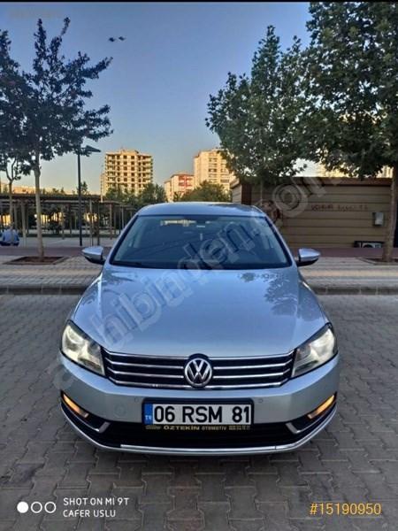 Sahibinden Volkswagen Passat 1.6 Tdi Bluemotion Comfortline 2011 Model Gaziantep 180.000 Km Gri