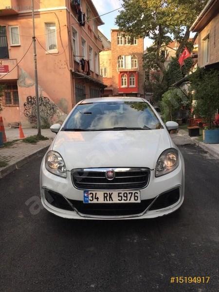 Sahibinden Fiat Linea 1.3 Multijet Pop 2016 Model İstanbul 95.359 Km Beyaz