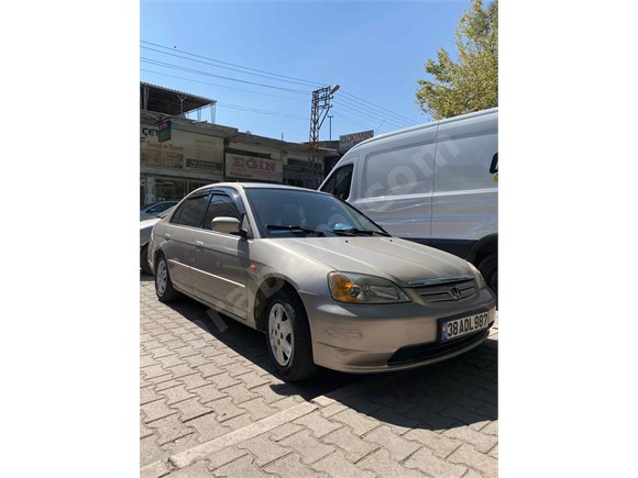 Sahibinden Honda Civic 1.6 LS 2002 Model