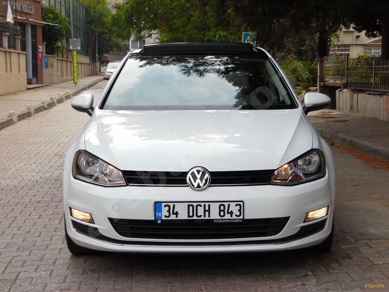 Sahibinden Volkswagen Golf 1.6 Tdi Bluemotion Comfortline 2015 Model İstanbul 138.000 Km Beyaz