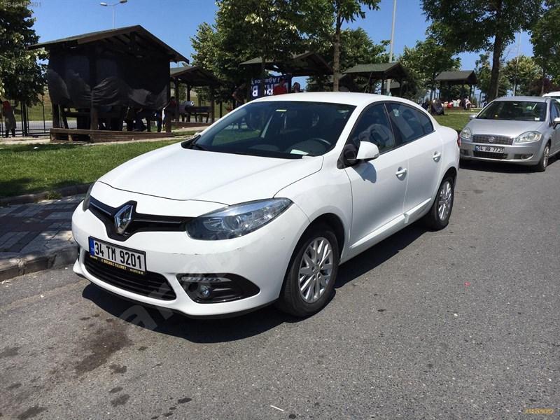 Sahibinden Renault Fluence 1.5 Dci Touch Plus 2016 Model İstanbul 69.000 Km Beyaz