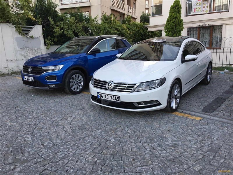 Sahibinden Volkswagen Vw Cc 1.4 Tsi 2014 Model İstanbul 82.500 Km Beyaz
