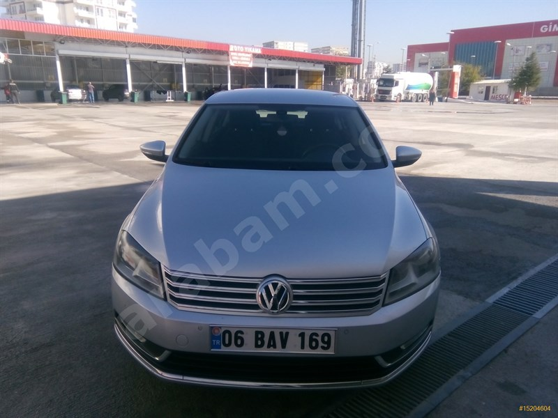 Sahibinden Volkswagen Passat 1.6 Tdi Bluemotion Comfortline 2011 Model Ankara 91.500 Km -