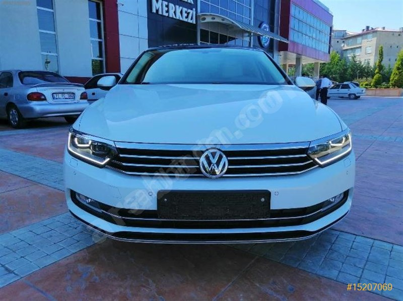 Sahibinden Volkswagen Passat 1.6 Tdi Bluemotion Highline 2017 Model Adıyaman 112.000 Km Beyaz