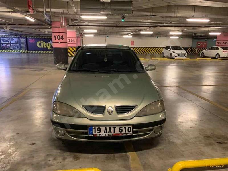Sahibinden Renault Megane 1.6 Rte 2001 Model çorum 197.500 Km -