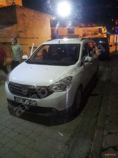 Sahibinden Dacia Lodgy 1.5 Dci Laureate 2013 Model Giresun 115.000 Km Beyaz