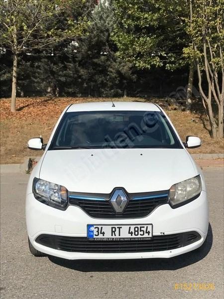 Sahibinden Renault Symbol 1.5 Dci Joy 2016 Model İstanbul 130.000 Km Beyaz
