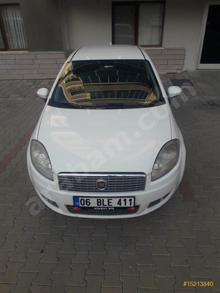 Sahibinden Fiat Linea 1.3 Multijet Active Plus 2013 Model Ankara 175.000 Km Beyaz