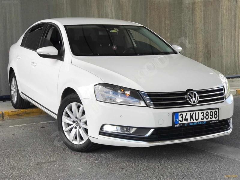 Sahibinden Volkswagen Passat 1.6 Tdi Bluemotion Comfortline 2014 Model İstanbul 103.000 Km Beyaz