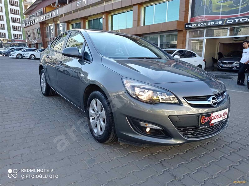 Galeriden Opel Astra 1.6 Edition Plus 2018 Model Diyarbakır 42.500 Km Gri