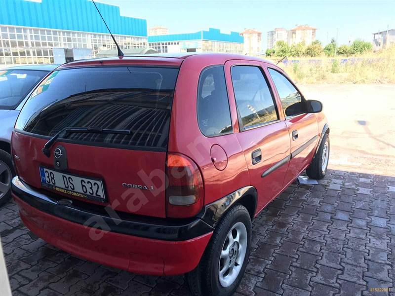 Sahibinden Opel Corsa 1.4 Swing 1998 Model Kayseri 320.000 Km Kırmızı