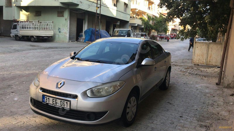 Sahibinden Renault Fluence 1.5 Dci Business 2011 Model Hatay 211.000 Km -