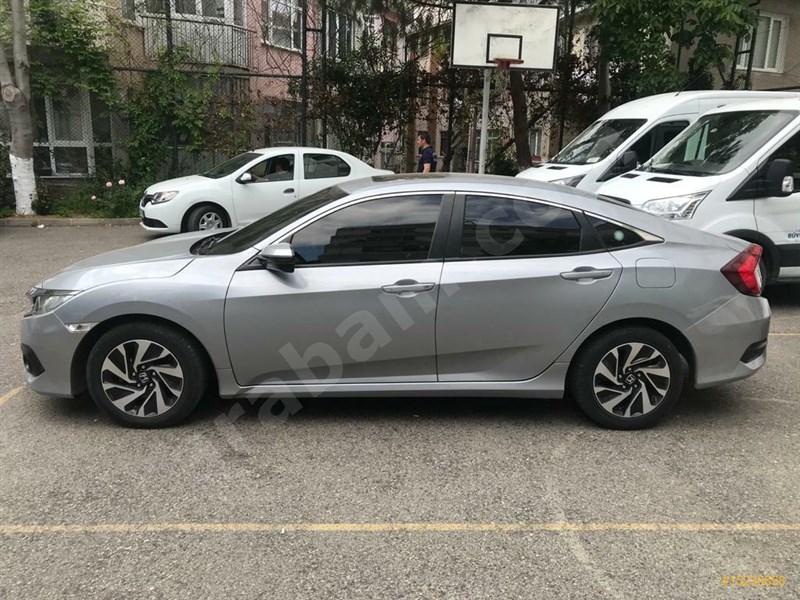 Sahibinden Honda Civic 1.6 I-vtec Eco Elegance 2016 Model İstanbul 110.000 Km -