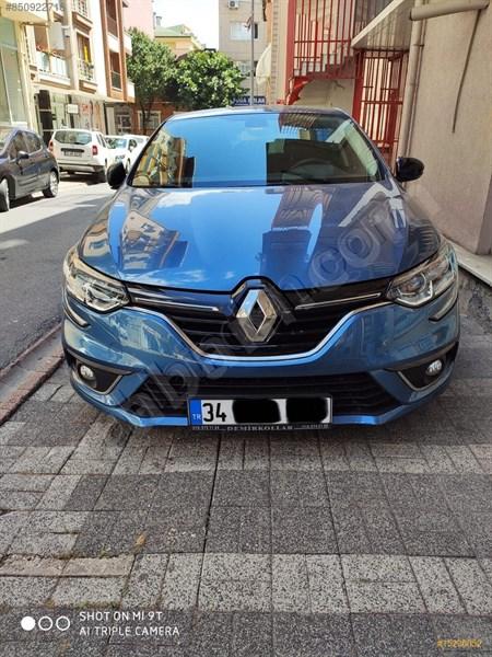 Sahibinden Renault Megane 1.5 Dci Touchrome 2017 Model İstanbul 17.000 Km Mavi
