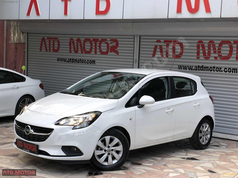 Galeriden Opel Corsa 1.4 Enjoy 2019 Model Adana 6.000 Km Beyaz