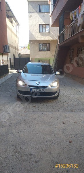 Sahibinden Renault Fluence 1.5 Dci Business 2011 Model İzmir 222.000 Km Gri (metalik)