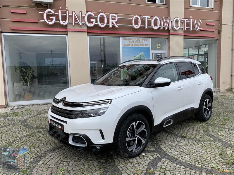 Galeriden Citroen C5 Aircross 1.5 Bluehdi Feel Adventure 2020 Model Rize 17.500 Km Beyaz