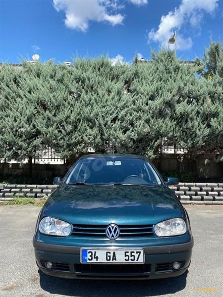 Sahibinden Volkswagen Golf 1.6 Comfortline 2001 Model İstanbul 263.000 Km Yeşil