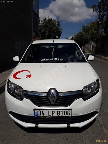 Sahibinden Renault Symbol 1.5 Dci Joy 2014 Model İstanbul 91.000 Km Beyaz