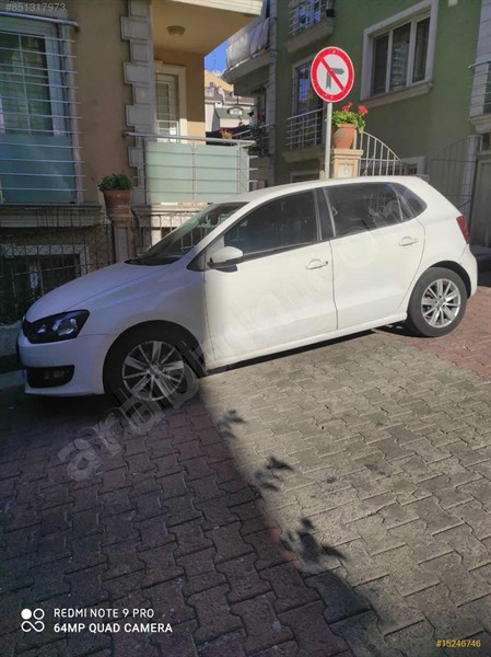 Sahibinden Volkswagen Polo 1.2 Tdi Trendline 2014 Model İstanbul 174.000 Km Beyaz