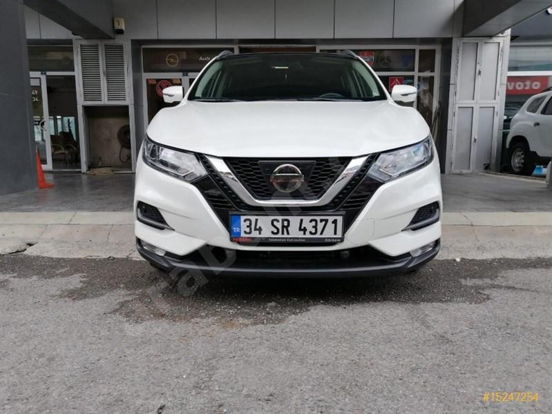 Galeriden Nissan Qashqai 1.6 Dci Sky Pack 2017 Model İstanbul 20.000 Km Beyaz
