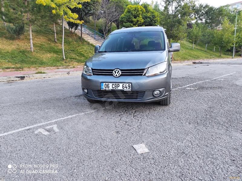 Sahibinden Volkswagen Caddy 1.6 Tdi Comfortline 2011 Model Ankara 110.000 Km Füme