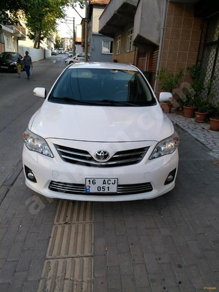 Sahibinden Toyota Corolla 1.33 Comfort 2013 Model Bursa 144.000 Km Beyaz