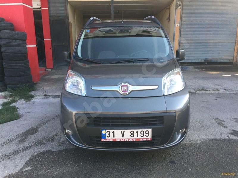 Galeriden Fiat Fiorino Combi 1.3 Multijet Emotion 2015 Model Hatay 106.000 Km Gri