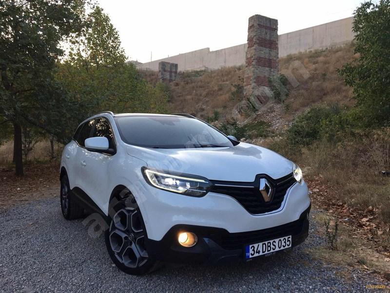 Galeriden Renault Kadjar 1.5 Dci Icon 2015 Model Kocaeli 115.000 Km Beyaz