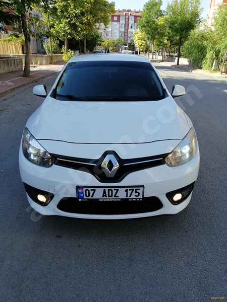 Galeriden Renault Fluence 1.5 Dci Joy 2013 Model Konya 191.000 Km Beyaz