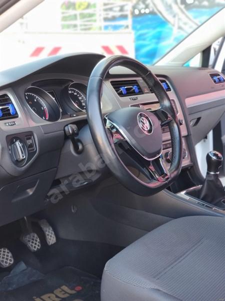 Sahibinden Volkswagen Golf 1.6 Tdi Bluemotion Midline Plus 2014 Model Balıkesir 120.000 Km Beyaz