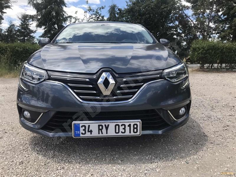 Galeriden Renault Megane 1.5 Dci Icon 2016 Model Kırklareli 70.000 Km Mavi