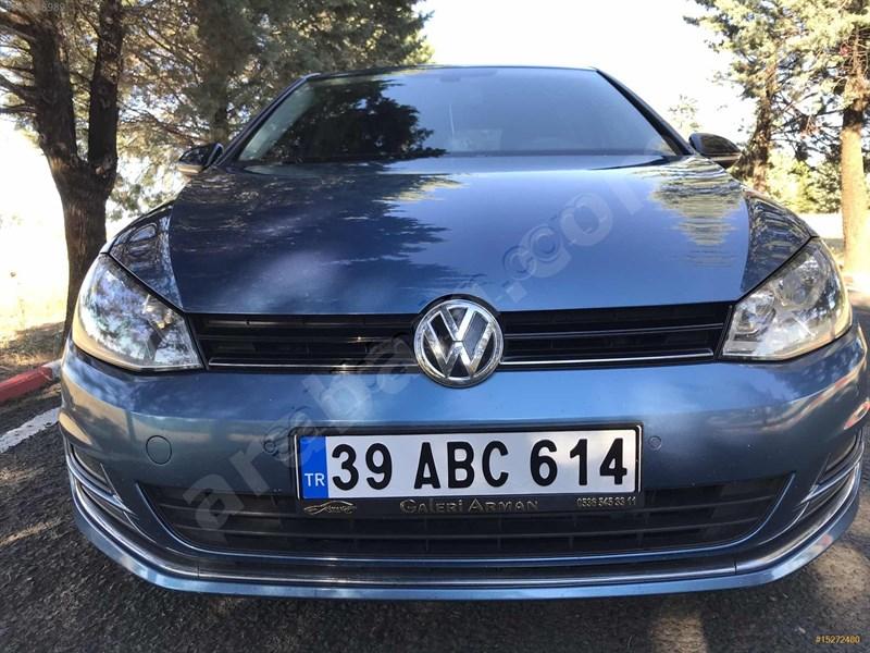 Galeriden Volkswagen Golf 1.6 Tdi Bluemotion Comfortline 2016 Model Kırklareli 95.000 Km Mavi